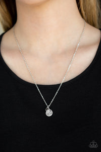 Worlds Best Mom - White Necklace 2568N