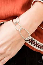 Load image into Gallery viewer, CHAIN and Simple- Silver Bracelet