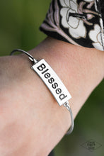 Load image into Gallery viewer, Blessed - Silver Bracelet 1615B