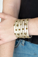 Load image into Gallery viewer, Go - Getter Glamorous Brass Bracelet