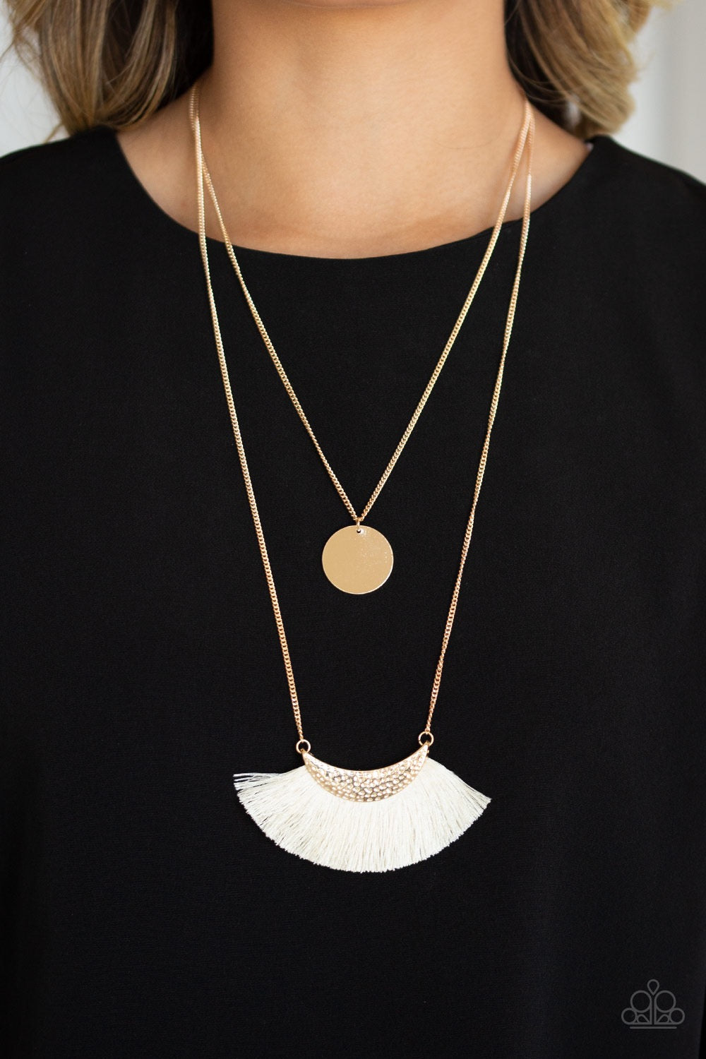 Tassel Temptation - Gold Necklace