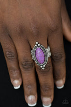 Load image into Gallery viewer, Summer Sanfstone - Purple Ring