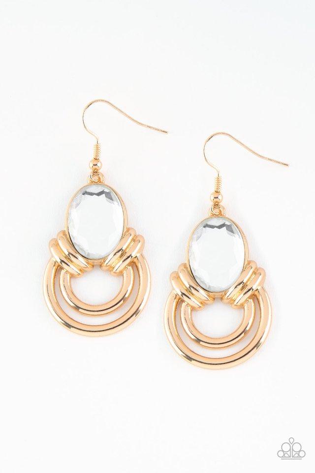 Real Queen - Gold Earring 2635E