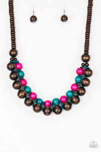 Caribbean Cover Girl - Multi Necklace 1203N