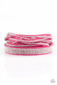 Taking Care of Business - Pink Bracelet