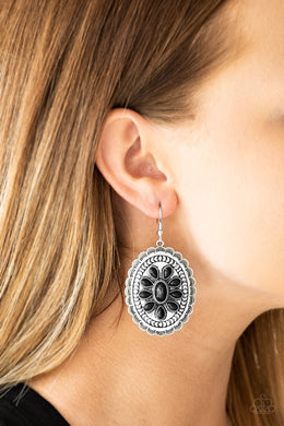 Absolutely Apothecary - Black Earring 2564E