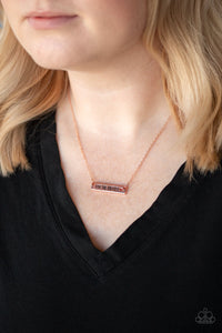 Love One Another - Copper Necklace 92N