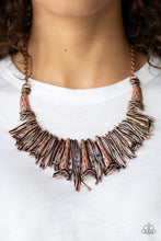 Load image into Gallery viewer, In The MAINE - stream - Copper Necklace 1003n