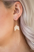 Load image into Gallery viewer, Radically Retro - Gold Earring 2659E