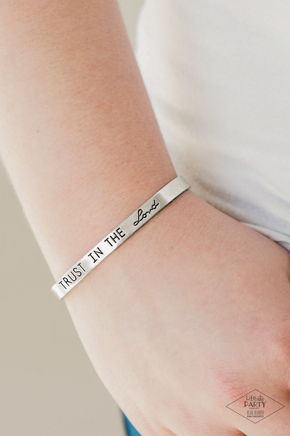 I Put My Trust In You - Silver Bracelet 1612B