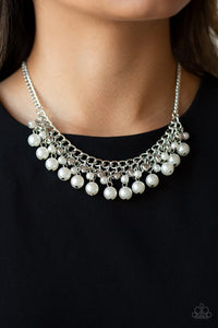 Duchess Dior - White Necklace 1089N