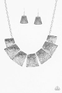 Here Comes The Huntress - Silver Necklace