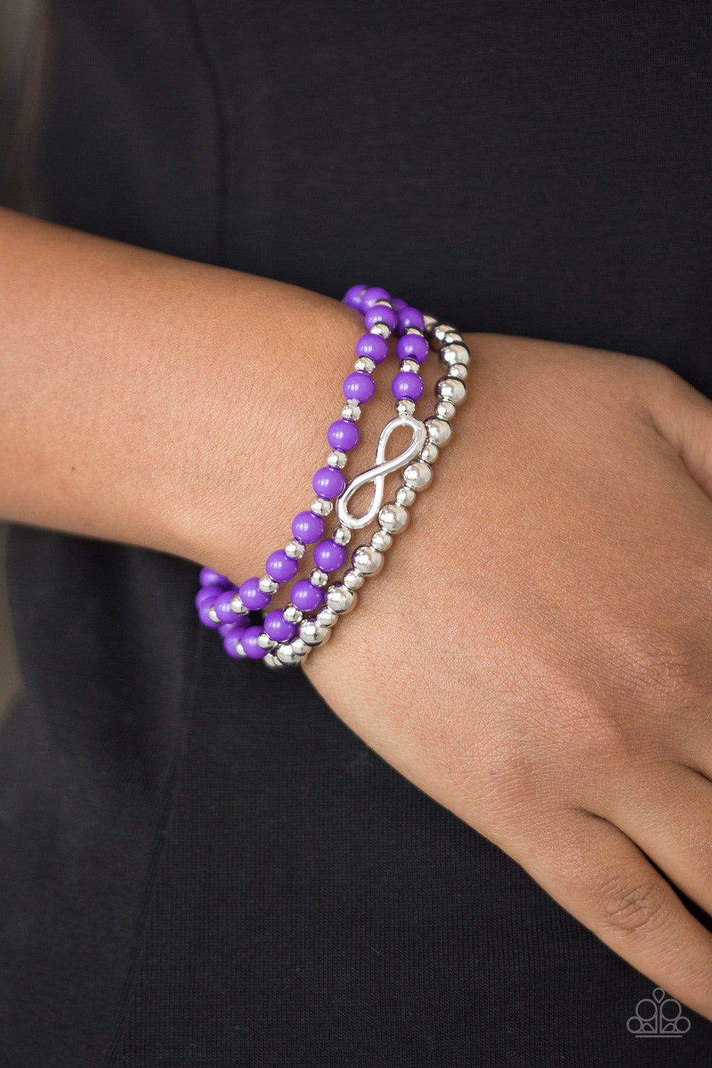 Immeasurably Infinite - Purple Bracelet