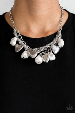 Change of Heart - White Necklace 1204N