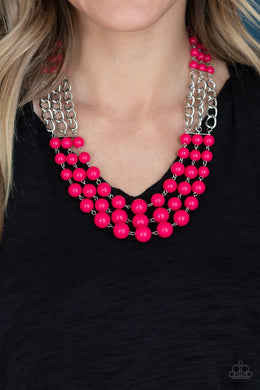 A La Vague - Pink Necklace