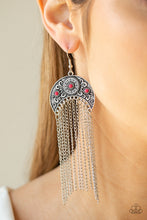 Load image into Gallery viewer, Lunar Melody - Pink Earring 91E