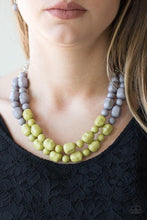 Load image into Gallery viewer, Island Excursion - Green Necklace 32n