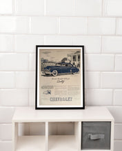 Copy of Vintage Chevrolet Car Advertisement