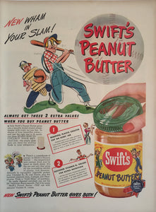 Vintage Swifts Peanut Butter Advertisement