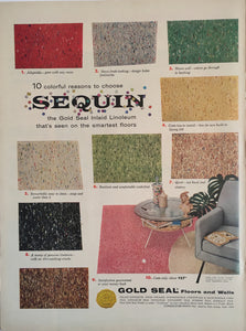 Vintage Gold Seal Flooring Advertisement
