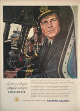 Vintage American Airlines Advertisement