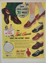Vintage Red Goose Shoes Advertisement