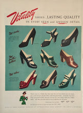 Vintage Vitality Women's Shoe Advertisement