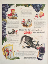 Vintage Welches Juice Advertisement