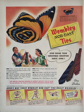 Vintage Wembley Nor-East Ties Advertisement