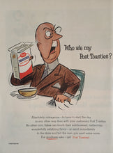 Vintage Post Toasties Cereal Advertisement