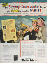 Vintage Contest for Travel To Paris Advertisement
