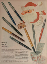 Vintage Parker Pen Advertisement