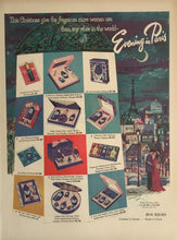 Vintage Evening In Paris Perfume Advertisement