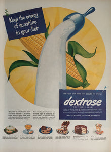 Vintage Dextrose Sugar Advertisement