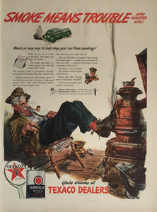 Vintage Texaco Advertisement