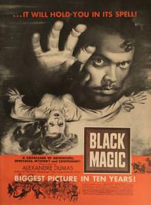Vintage Black Magic Movie Advertisement