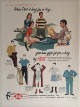 Vintage REIS Men's Clothing Advertisement