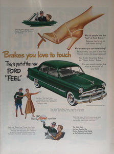 Vintage Ford Car Advertisement