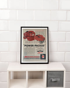 Vintage Lauson Power Products Advertisement