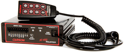 Carson SC-1022 Volunteer Siren with Handheld Remote