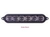 SoundOff Signal mPower Fascia - 6 LED - Single Color