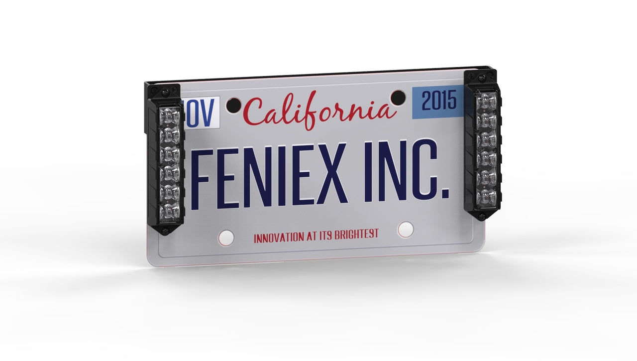 Feniex Fusion License Plate Bracket