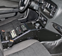 RAM COMPLETE Tough-Box™ Angled Console for Dodge Charger Police Pursuit