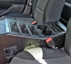 RAM COMPLETE Tough-Box™ Angled Console for Ford Police Interceptor Sedan