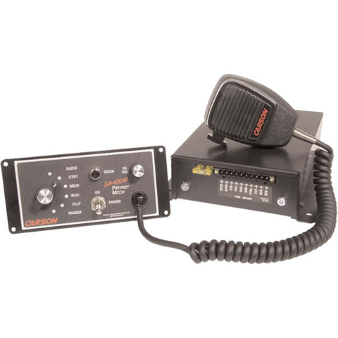 Carson SA-430M Patriot Remote Siren With Mechanical Tones