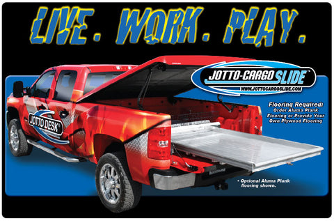 "Jotto-Cargo Slide - Mid Size Trucks - Medium Duty 72"" x 40"""