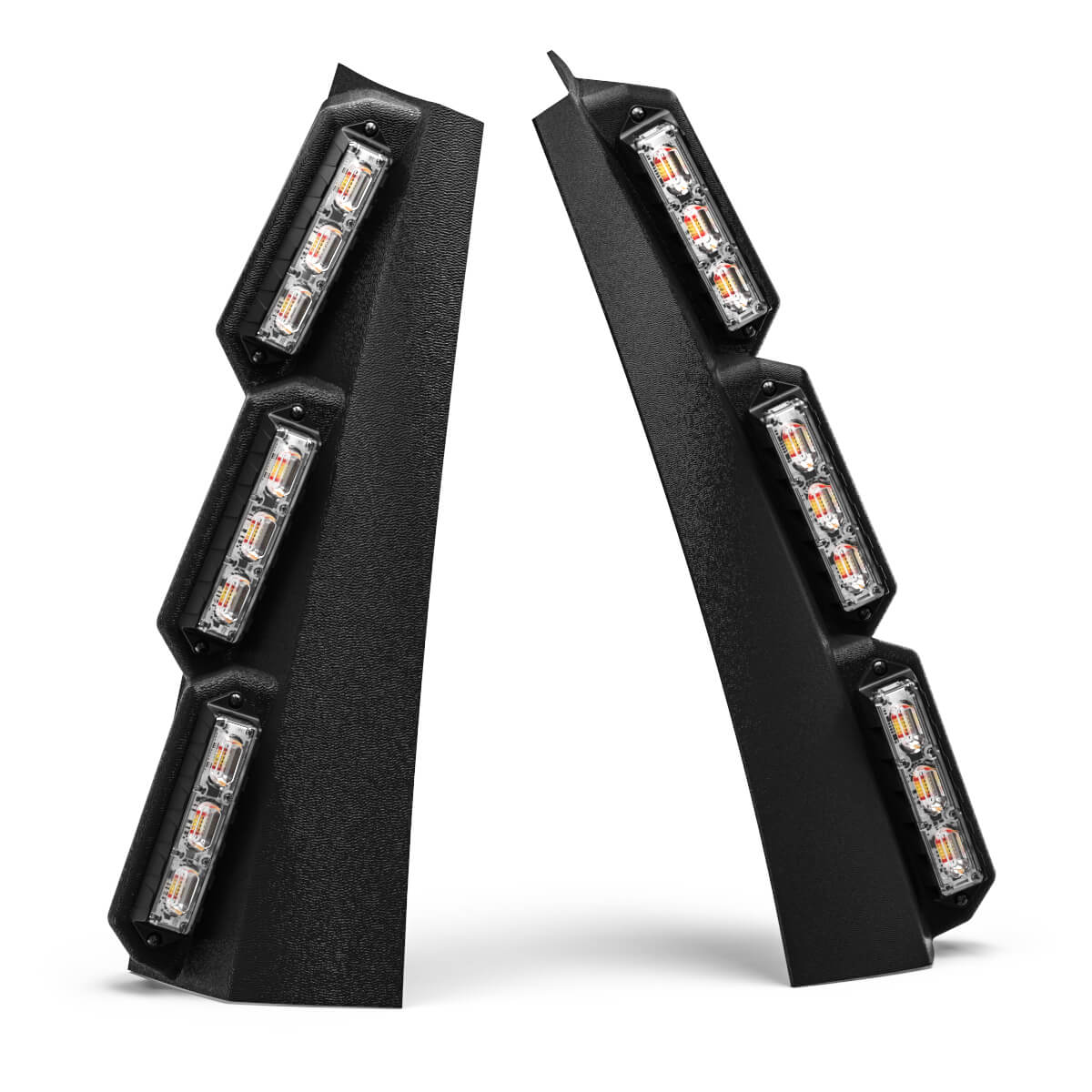 Feniex QUAD 4-Color Pillar Mount LED Lights