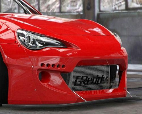 GReddy 13+ Scion FR-S Version 2 Greddy X Rocket Bunny 86 Aero Front Splitter Only