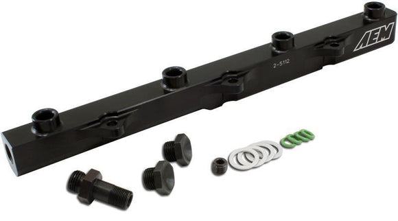 AEM 00-05 S2000 Black High Volume Fuel Rail (Compatible with Drive by Cable Cars)