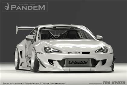 GReddy Scion FR-S Pandem Wide Body V3 Front Bumper